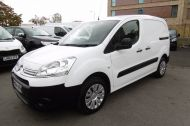CITROEN BERLINGO 850 ENTERPRISE 3-SEAT L1 1.6 HDI 90 IN WHITE 1 OWNER WITH AIR CONDITIONING ONLY £5495 + VAT  - 913 - 3