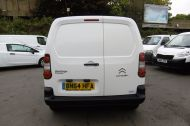 CITROEN BERLINGO 850 ENTERPRISE 3-SEAT L1 1.6 HDI 90 IN WHITE 1 OWNER WITH AIR CONDITIONING ONLY £5495 + VAT  - 913 - 5