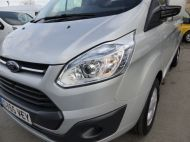 FORD TRANSIT CUSTOM 270/125 LIMITED L1H1 SWB DIESEL VAN IN SILVER WITH ONLY 18.000 MILES,AIR CONDITIONING,HEATED SEATS,ELECTRIC PACK,CRUISE CONTROL,ALLOY WHEELS AND MORE - 1041 - 21