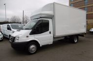 FORD TRANSIT 350/125 DRW E/F LUTON TAILLIFT DIESEL VAN WITH ONLY 62.000 MILES - 955 - 20