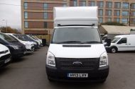 FORD TRANSIT 350/125 DRW E/F LUTON TAILLIFT DIESEL VAN WITH ONLY 62.000 MILES - 955 - 2