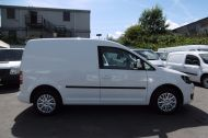 VOLKSWAGEN CADDY C20 102TDI TRENDLINE DIESEL VAN WITH ONLY 46.000 MILES,REVERSE CAMERA,CRUISE,SENSORS AND MORE *** SOLD *** - 811 - 20