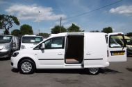 VOLKSWAGEN CADDY C20 102TDI TRENDLINE DIESEL VAN WITH ONLY 46.000 MILES,REVERSE CAMERA,CRUISE,SENSORS AND MORE *** SOLD *** - 811 - 19