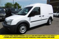 FORD TRANSIT CONNECT T230 LWB DIESEL VAN WITH ONLY 55.000 MILES,AIR CONDITIONING,1 OWNER,FULL SERVICE HISTORY,PARKING SENSORS AND MORE - 1100 - 1