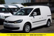 VOLKSWAGEN CADDY C20 102TDI TRENDLINE DIESEL VAN WITH ONLY 46.000 MILES,REVERSE CAMERA,CRUISE,SENSORS AND MORE *** SOLD *** - 811 - 1