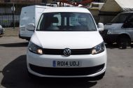 VOLKSWAGEN CADDY C20 102TDI TRENDLINE DIESEL VAN WITH ONLY 46.000 MILES,REVERSE CAMERA,CRUISE,SENSORS AND MORE *** SOLD *** - 811 - 2
