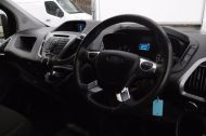 FORD TRANSIT CUSTOM 270 TREND L1H1 SWB DIESEL VAN IN BLACK WITH CRUISE CONTROL,ELECTRIC PACK,PARK SENSORS AND MORE  - 962 - 9