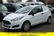 FORD FIESTA 1.5 TDCI CAR DERIVED VAN WITH ONLY 35000 MILES,1 OWNER,FULL SERVICE HISTORY AND MORE - 912 - 4