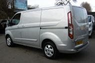 FORD TRANSIT CUSTOM 270/125 LIMITED L1H1 SWB DIESEL VAN IN SILVER WITH ONLY 18.000 MILES,AIR CONDITIONING,HEATED SEATS,ELECTRIC PACK,CRUISE CONTROL,ALLOY WHEELS AND MORE - 1041 - 7