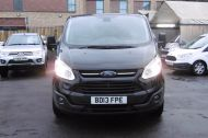 FORD TRANSIT CUSTOM 270 TREND L1H1 SWB DIESEL VAN IN BLACK WITH CRUISE CONTROL,ELECTRIC PACK,PARK SENSORS AND MORE  - 962 - 2
