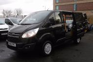 FORD TRANSIT CUSTOM 270 TREND L1H1 SWB DIESEL VAN IN BLACK WITH CRUISE CONTROL,ELECTRIC PACK,PARK SENSORS AND MORE  - 962 - 16