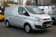 FORD TRANSIT CUSTOM 270/125 LIMITED L1H1 SWB DIESEL VAN IN SILVER WITH ONLY 18.000 MILES,AIR CONDITIONING,HEATED SEATS,ELECTRIC PACK,CRUISE CONTROL,ALLOY WHEELS AND MORE - 1041 - 3