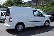 VOLKSWAGEN CADDY C20 102TDI TRENDLINE DIESEL VAN WITH ONLY 46.000 MILES,REVERSE CAMERA,CRUISE,SENSORS AND MORE *** SOLD *** - 811 - 6