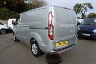 FORD TRANSIT CUSTOM 270/125 LIMITED L1H1 SWB DIESEL VAN IN SILVER WITH ONLY 28.000 MILES,SAT NAV,AIR CONDITIONING,ELECTRIC PACK,CRUISE CONTROL,ALLOY WHEELS AND MORE - 928 - 4