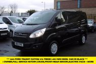 FORD TRANSIT CUSTOM 270 TREND L1H1 SWB DIESEL VAN IN BLACK WITH CRUISE CONTROL,ELECTRIC PACK,PARK SENSORS AND MORE  - 962 - 1