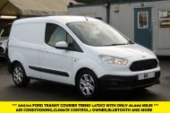 FORD TRANSIT COURIER TREND 1.6TDCI 95 SWB DIESEL VAN WITH ONLY 48.000 MILES,1 OWNER, AIR CONDITIONING,BLUETOOTH AND MORE - 1032 - 1