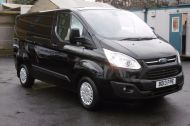 FORD TRANSIT CUSTOM 270 TREND L1H1 SWB DIESEL VAN IN BLACK WITH CRUISE CONTROL,ELECTRIC PACK,PARK SENSORS AND MORE  - 962 - 3