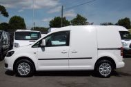 VOLKSWAGEN CADDY C20 102TDI TRENDLINE DIESEL VAN WITH ONLY 46.000 MILES,REVERSE CAMERA,CRUISE,SENSORS AND MORE *** SOLD *** - 811 - 18