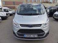 FORD TRANSIT CUSTOM 270/125 LIMITED L1H1 SWB DIESEL VAN IN SILVER WITH ONLY 18.000 MILES,AIR CONDITIONING,HEATED SEATS,ELECTRIC PACK,CRUISE CONTROL,ALLOY WHEELS AND MORE - 1041 - 2