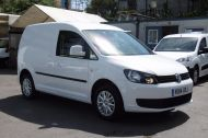 VOLKSWAGEN CADDY C20 102TDI TRENDLINE DIESEL VAN WITH ONLY 46.000 MILES,REVERSE CAMERA,CRUISE,SENSORS AND MORE *** SOLD *** - 811 - 3