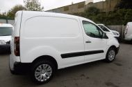 CITROEN BERLINGO 850 ENTERPRISE 3-SEAT L1 1.6 HDI 90 IN WHITE 1 OWNER WITH AIR CONDITIONING ONLY £5495 + VAT  - 913 - 4