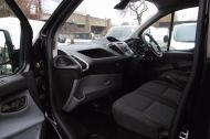 FORD TRANSIT CUSTOM 270 TREND L1H1 SWB DIESEL VAN IN BLACK WITH CRUISE CONTROL,ELECTRIC PACK,PARK SENSORS AND MORE  - 962 - 11