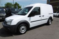 FORD TRANSIT CONNECT T230 LWB DIESEL VAN WITH ONLY 55.000 MILES,AIR CONDITIONING,1 OWNER,FULL SERVICE HISTORY,PARKING SENSORS AND MORE - 1100 - 2