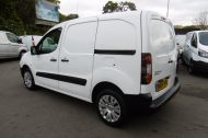 CITROEN BERLINGO 850 ENTERPRISE 3-SEAT L1 1.6 HDI 90 IN WHITE 1 OWNER WITH AIR CONDITIONING ONLY £5495 + VAT  - 913 - 6