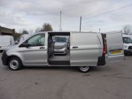 MERCEDES VITO 111 CDI LWB SILVER WITH ONLY 37.000 MILES,AIR CONDITIONING,CRUISE CONTROL,BLUETOOTH,6 SPEED AND MORE - 1696 - 8