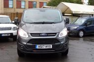 FORD TRANSIT CUSTOM 290/130 LIMITED L2H1 LWB IN MAGNETIC GREY WITH ONLY 23.000 MILES,2.0 130PS EURO 6,AIR CONDITIONING AND MORE - 1239 - 2