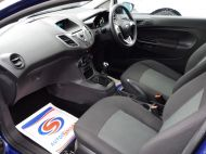 FORD FIESTA VAN 1.5 TDCI WITH AIR CONDITIONING IN DEEP IMPACT BLUE WITH ONLY 54.000 MILES - 1234 - 12