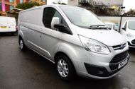 FORD TRANSIT CUSTOM 290 LIMITED L2 H1 125 LWB IN METALLIC SILVER WITH AIR CONDTIONING **** JUST ARRIVED ***** £9995 + VAT  - 1258 - 3