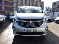 VAUXHALL VIVARO 2900 L2H1 LWB CDTI SPORTIVE IN SILVER WITH AIR CONDITIONING,PARKING SENSORS,ELECTRIC PACK AND MORE *** SOLD *** - 1335 - 2