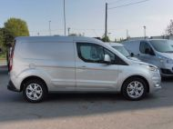 FORD TRANSIT CONNECT 200 LIMITED L1 SWB EURO 6 VAN IN SILVER WITH ONLY 41.000 MILES,AIR CONDITIONING,ELECTRIC PACK,SENSORS,ALLOY'S AND MORE - 1555 - 8