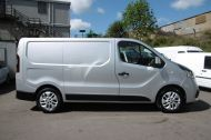 RENAULT TRAFIC SL27 SPORT ENERGY L1H1 SWB DCI IN SILVER WITH ONLY 64.000 MILES,AIR CONDITIONING,SAT NAV,PARKING SENSORS **** SOLD **** - 1282 - 19