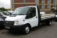 FORD TRANSIT 350/125 E/F 13FT 6 ALLOY DROPSIDE,1 OWNER,6 SPEED MANUAL,TWIN REAR WHEELS AND MORE - 1213 - 14