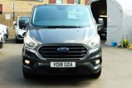FORD TRANSIT CUSTOM 280/130 LIMITED L1H1 SWB 2.0 TDCI EURO 6 IN MAGNETIC GREY NEW SHAPE MODEL WITH ONLY 18.000 MILES AND MORE - 1437 - 3