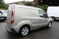 FORD TRANSIT CONNECT 200 LIMITED 115PS L1H1 SWB IN SILVER WITH AIR CONDITIONING,ALLOY WHEELS,ELECTRIC PACK,SENSORS , JUST ARRIVED  **** £9995 + VAT  **** - 1175 - 4
