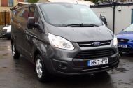 FORD TRANSIT CUSTOM 290/130 LIMITED L2H1 LWB IN MAGNETIC GREY WITH ONLY 23.000 MILES,2.0 130PS EURO 6,AIR CONDITIONING AND MORE - 1239 - 16