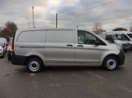 MERCEDES VITO 111 CDI LWB IN SILVER WITH ONLY 58.000 MILES,AIR CONDITIONING,CRUISE CONTROL,BLUETOOTH,6 SPEED AND MORE - 1632 - 7