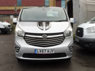 VAUXHALL VIVARO 2700 LIMITED EDITION BI TURBO SPORTIVE L1 SWB IN SILVER WITH ONLY 47.000 MILES,SAT NAV,ALLOY WHEELS AND MORE *** SOLD *** - 1656 - 31