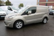 FORD TRANSIT CONNECT 200 LIMITED 115PS L1H1 SWB IN SILVER WITH AIR CONDITIONING,ALLOY WHEELS,ELECTRIC PACK,SENSORS , JUST ARRIVED  **** £9995 + VAT  **** - 1175 - 1