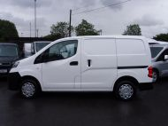 NISSAN NV200 1.5DCi ACENTA SWB EX BRITISH GAS WITH AIR CONDITIONING,ELECTRIC PACK,REVERSE CAMERA **** SOLD **** - 1405 - 18