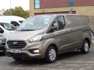FORD TRANSIT CUSTOM 280/130 LIMITED L1 SWB EURO 6 WITH ONLY 22.000 MILES,AIR CONDITIONING,HEATED SEATS,SENSORS,ELECTRIC PACK AND MORE **** £18995 + VAT **** - 1543 - 2