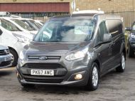 FORD TRANSIT CONNECT 240 LIMITED L2 LWB EURO 6 IN GREY WITH AIR CONDITIONING,SENSORS,ALLOY'S,PARKING SENSORS,ELECTRIC PACK,BLUETOOTH AND MORE  - 1597 - 18