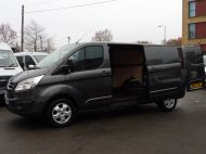 FORD TRANSIT CUSTOM 290/130 LIMITED EURO 6 L2 LWB IN MAGNETIC GREY WITH ONLY 23.000 MILES,2.0 130PS,AIR CONDITIONING **** SOLD **** - 1239 - 8