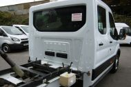 FORD TRANSIT 350 L3 DOUBLE CREW CAB ALLOY TIPPER WITH ONLY 34.000 MILES,6 SPEED MANUAL,TOW BAR AND MORE  - 1228 - 24