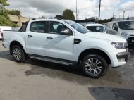 FORD RANGER WILDTRAK 4X4 3.2 TDCI 200 AUTOMATIC DOUBLE CAB  ** EURO 6 **IN WHITE WITH ONLY 26000 MILES **** £22995 + VAT **** - 1575 - 3