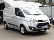 FORD TRANSIT CUSTOM 290 TREND L1H1 SWB IN SILVER 2.0 EURO 6 WITH ONLY 34.000 MILES,FRONT+REAR PARKING SENSORS,ELECTRIC PACK AND MORE  - 1383 - 3