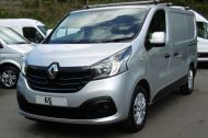 RENAULT TRAFIC SL27 SPORT ENERGY L1H1 SWB DCI IN SILVER WITH ONLY 64.000 MILES,AIR CONDITIONING,SAT NAV,PARKING SENSORS **** SOLD **** - 1282 - 21